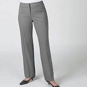 Gloria Vanderbilt Career Audra Classic Trousers